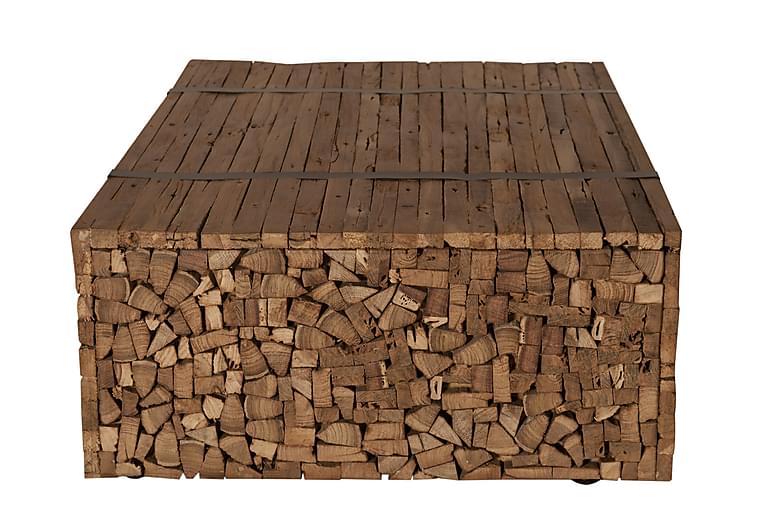 Sohvapöytä Monkwearmouth - Puu/Luonnonväri - Huonekalut - Pöydät - Sohvapöydät