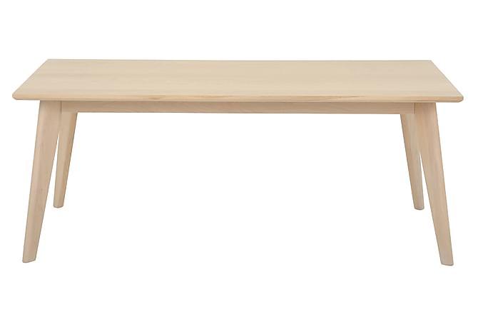 Sohvapöytä Odensor 120 cm - Valkopigmentoitu - Huonekalut - Pöydät - Sohvapöydät