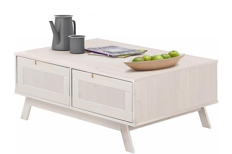 Sohvapöytä Olly 100 cm - Valkoinen - Huonekalut - Pöydät - Sohvapöydät