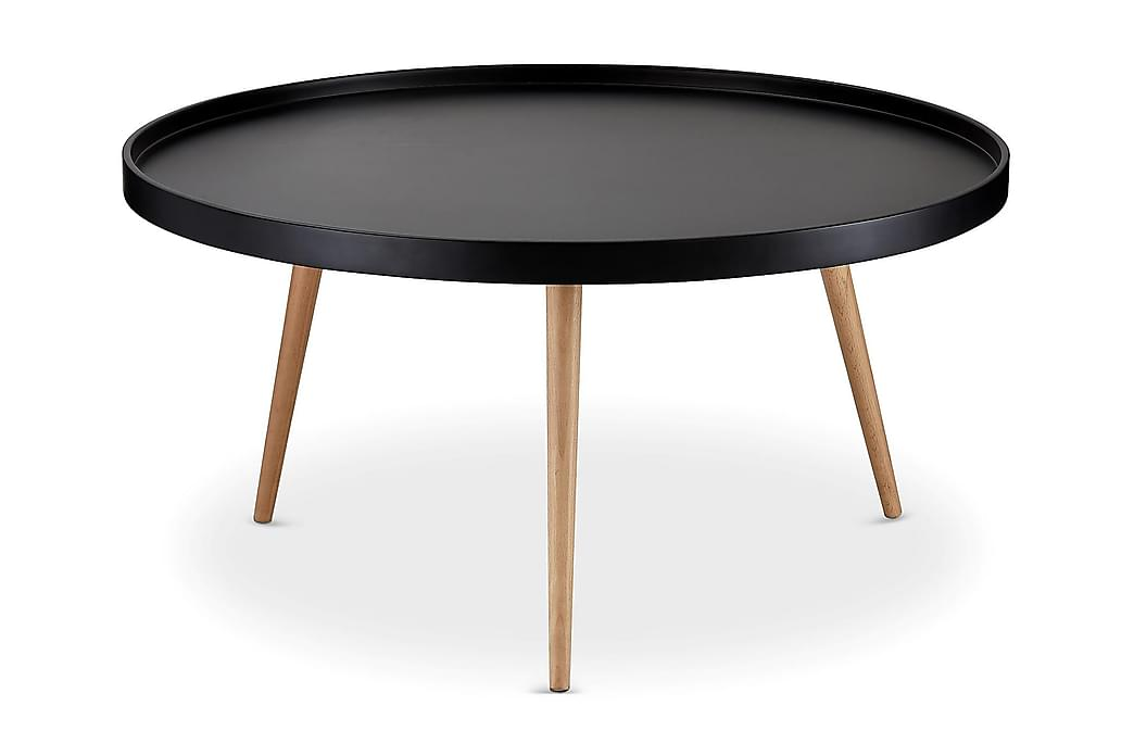 Sohvapöytä Opus 90 cm Pyöreä - Musta - Huonekalut - Pöydät - Sohvapöydät