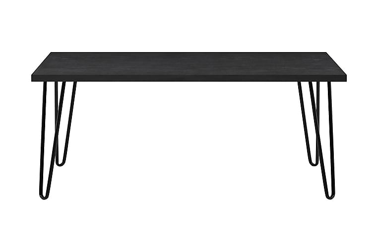 Sohvapöytä Owen 107 cm Musta - Dorel Home - Huonekalut - Pöydät - Sohvapöydät