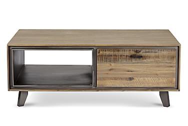 Sohvapöytä Periana 120 cm laatikoilla