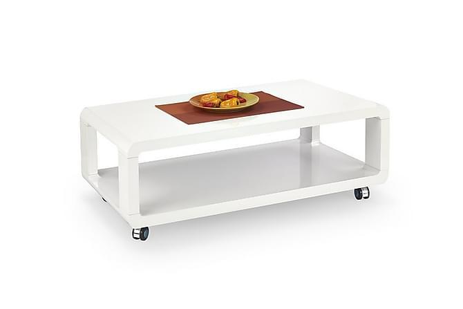 Sohvapöytä Perreira 105x58 cm - Valkoinen - Huonekalut - Pöydät - Sohvapöydät