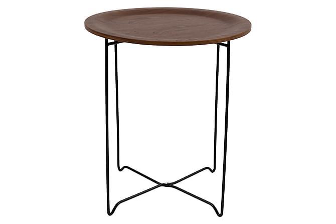 Sohvapöytä Pinalia Pähkinä/Musta - Huonekalut - Pöydät - Sohvapöydät