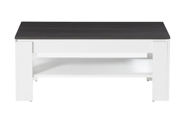 Sohvapöytä Rifallet 110 cm - Valkoinen/Tummanharmaa - Huonekalut - Pöydät - Sohvapöydät