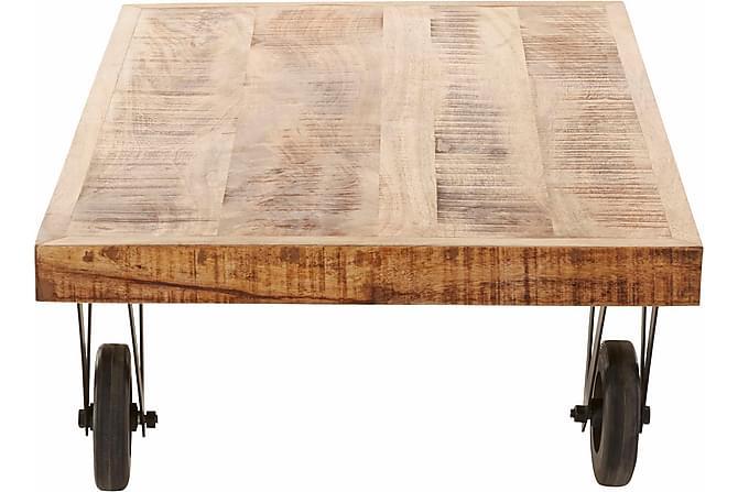 Sohvapöytä Sarika 110 cm - Luonnonväri/Puu - Huonekalut - Pöydät - Sohvapöydät