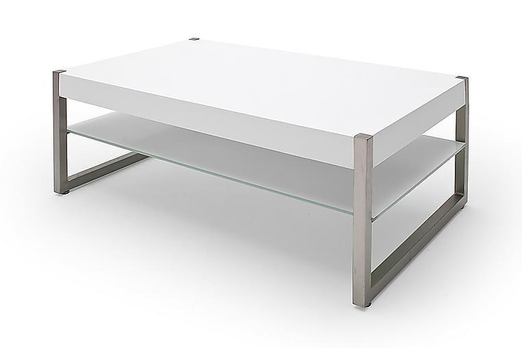Sohvapöytä Selvor 105 cm - Valkoinen - Huonekalut - Pöydät - Sohvapöydät