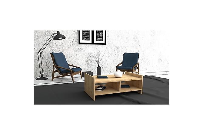 Sohvapöytä Sharmonique 90 cm - Pähkinä - Huonekalut - Pöydät - Sohvapöydät