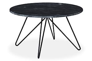 Sohvapöytä Sisko 80 cm Pyöreä Marmori