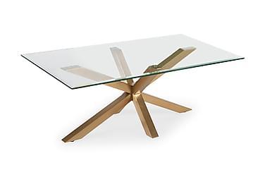 Sohvapöytä Split 120 cm Lasi/Messinki