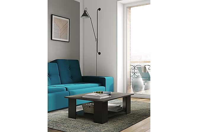 Sohvapöytä Square 67 cm - Harmaa/Musta - Huonekalut - Pöydät - Sohvapöydät