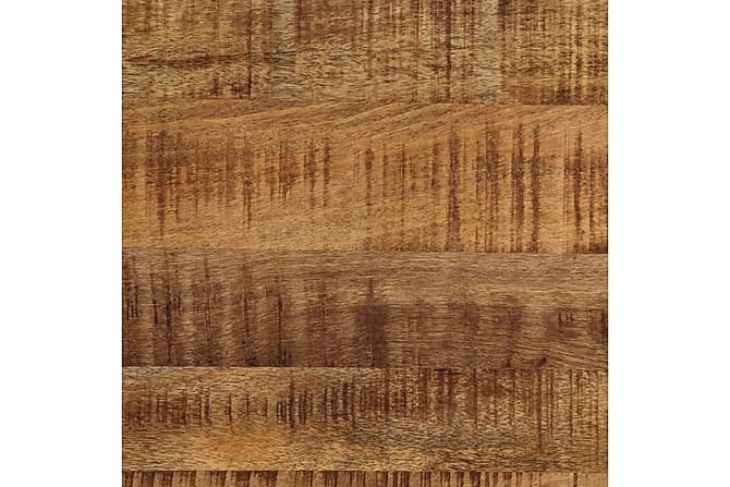 Sohvapöytä täysi karkea mangopuu ja teräs 110 cm - Valkoinen - Huonekalut - Pöydät - Sohvapöydät