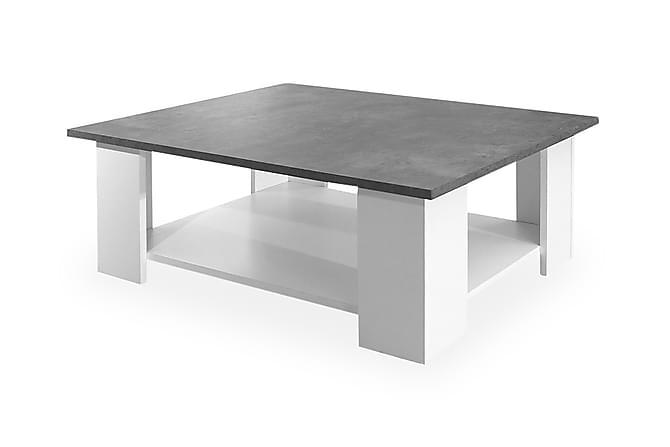 Sohvapöytä Takaji 89 cm - Harmaa/Valkoinen - Huonekalut - Pöydät - Sohvapöydät