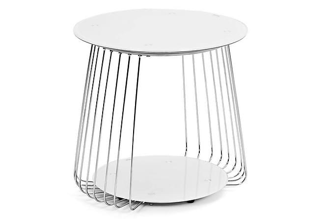 Sohvapöytä Tatiana 50 cm Pyöreä - Valkoinen - Huonekalut - Pöydät - Sohvapöydät