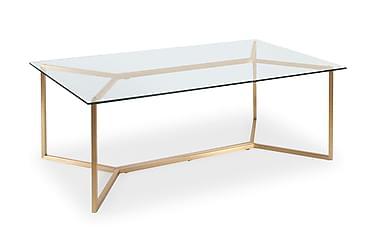 Sohvapöytä Terreno 130 cm Lasi/Messinki