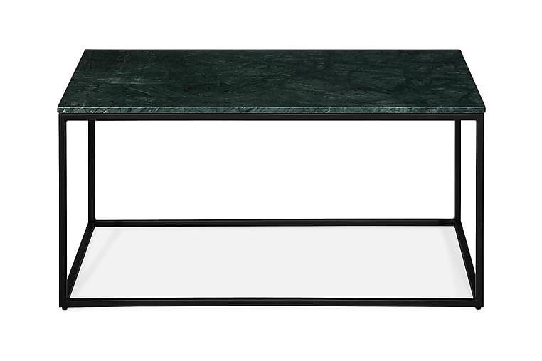 Sohvapöytä Titania 90 cm Marmori - Vihreä/Musta - Huonekalut - Pöydät - Sohvapöydät