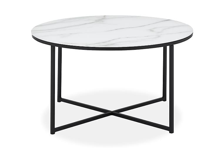 Sohvapöytä Valeria - Musta/Valkoinen - Huonekalut - Pöydät - Sohvapöydät