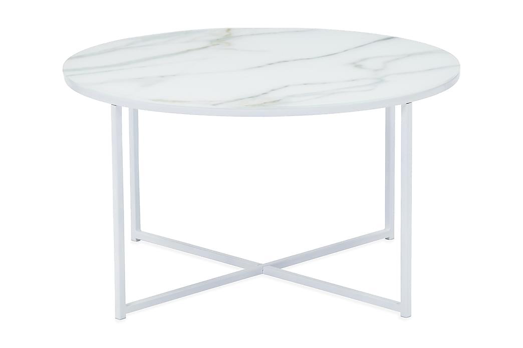 Sohvapöytä Valeria - Valkoinen - Huonekalut - Pöydät - Sohvapöydät