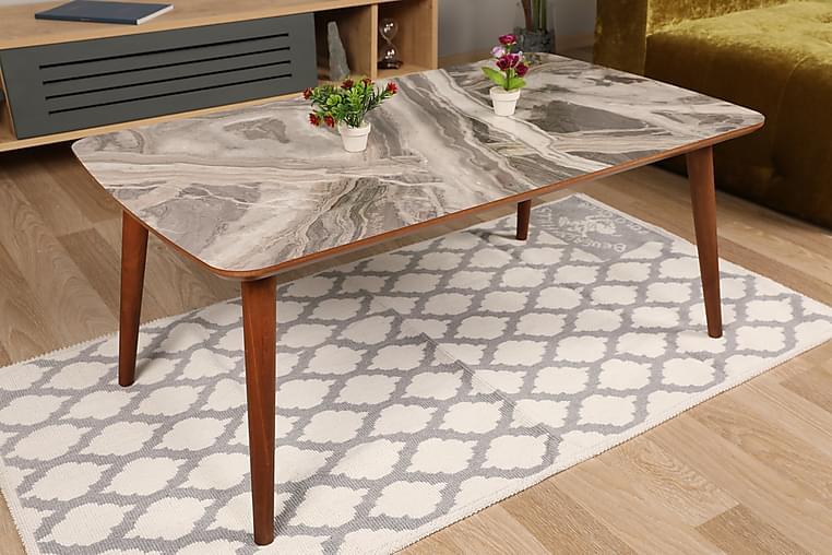 Sohvapöytä Vassbacken - Harmaa - Huonekalut - Pöydät - Sohvapöydät