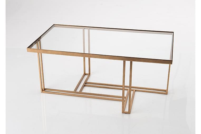 Sohvapöytä Vuono - Kulta - Huonekalut - Pöydät - Sohvapöydät