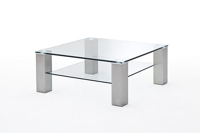 Sohvapöytä Woodell 90 cm - Hopea - Huonekalut - Pöydät - Sohvapöydät