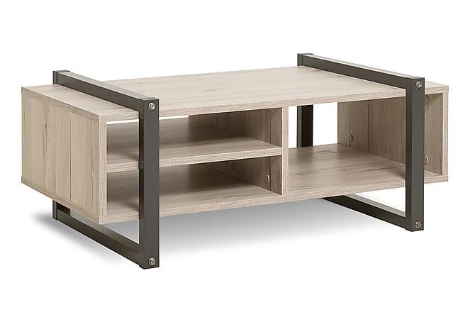 Sohvapöytä Yagomy - Ruskea/Harmaa - Huonekalut - Pöydät - Sohvapöydät