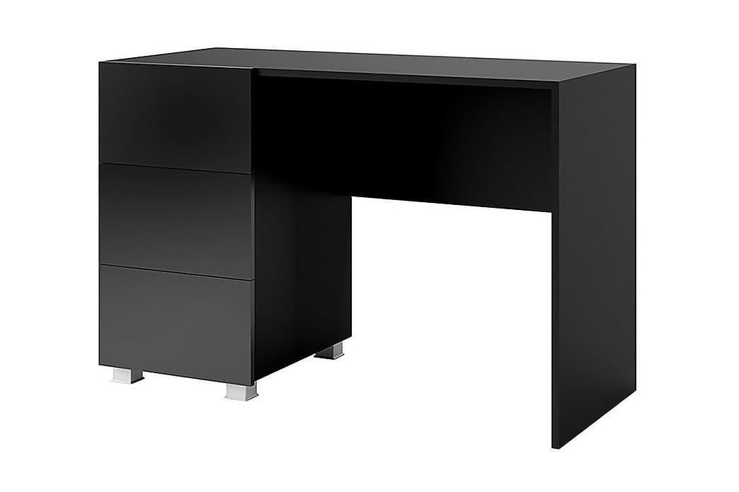 Kirjoituspöytä Frick - Musta - Huonekalut - Pöydät - Kirjoituspöydät