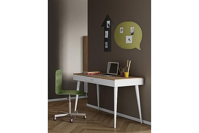Kirjoituspöytä Horizon - Valkoinen/Ruskea - Huonekalut - Pöydät - Kirjoituspöydät