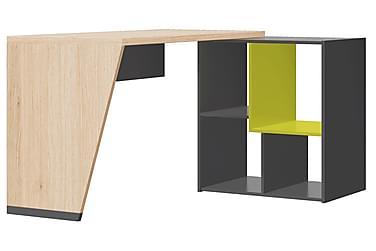Kirjoituspöytä Lexy 130 cm Kirjahyllyllä