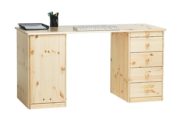 Kirjoituspöytä Plinio Lakattu mänty - Huonekalut - Pöydät - Kirjoituspöydät