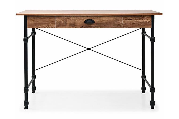 Kirjoituspöytä vetolaatikolla 110x55x75 cm tammen värinen - Ruskea - Huonekalut - Pöydät - Kirjoituspöydät