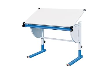 Lasten Kirjoituspöytä Trebbia Valkoinen/Sininen