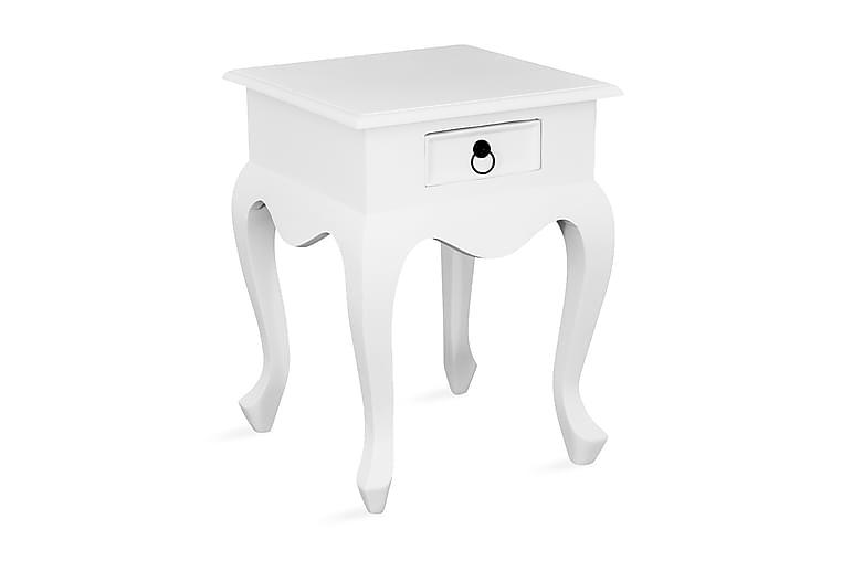 Yöpöytä Beatrice 45 cm - Valkoinen - Huonekalut - Pöydät - Yöpöydät