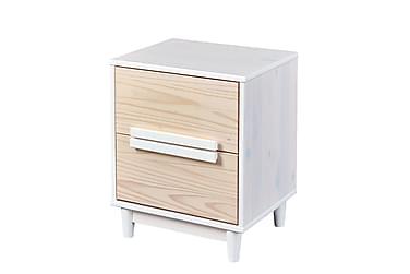 Yöpöytä Ebbo 48 cm 2 laatikolla