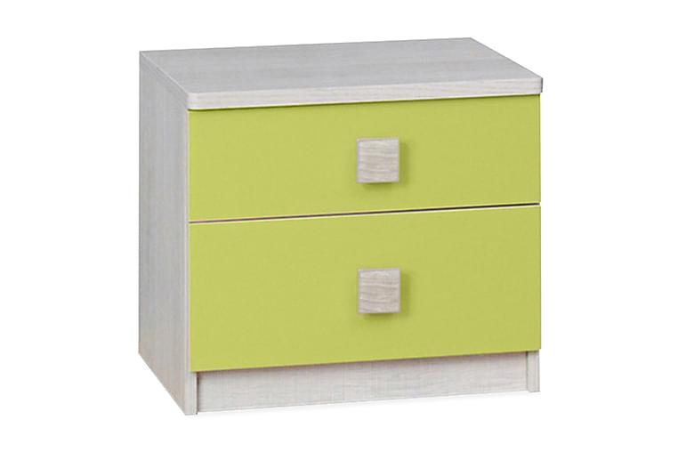 Yöpöytä Grayham - Keltainen - Huonekalut - Pöydät - Yöpöydät