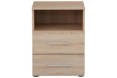 Yöpöytä Monreal 45,1x61,4 cm Hylly+2 laatikkoa