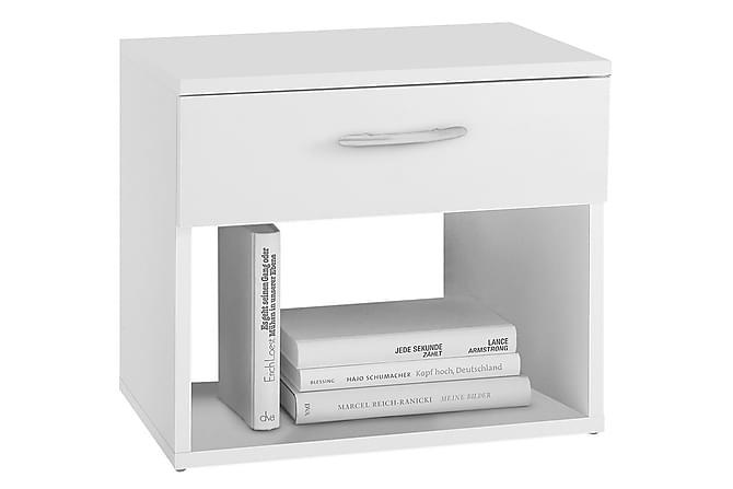 Yöpöytä Myer 42 cm - Valkoinen - Huonekalut - Pöydät - Yöpöydät