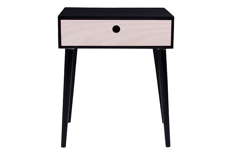 Yöpöytä Scandic Musta - Huonekalut - Pöydät - Yöpöydät