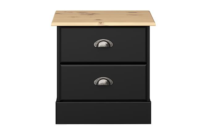 Yöpöytä Steens 44 cm - Musta - Huonekalut - Pöydät - Yöpöydät