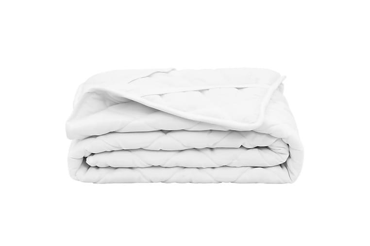 Topattu patjansuojus valkoinen 90x200 cm kevyt - Valkoinen - Sisustustuotteet - Kodintekstiilit - Vuodevaatteet