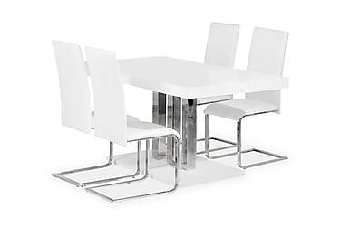 Pöytä Theron 160 + 4 Phoenix tuolia Valk