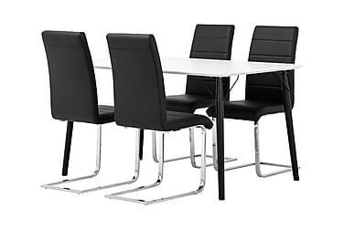 Ruokailuryhmä Allport 140 4 Abuzzo tuolilla