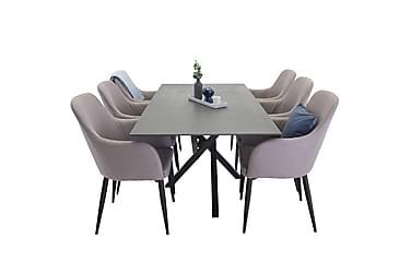 Ruokailuryhmä Arnulf + 6 Ulf tuolia