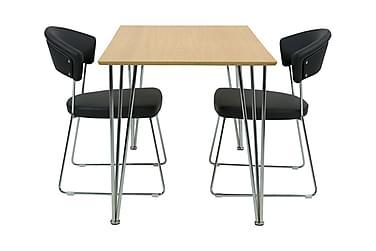 Ruokailuryhmä Elisha 120 cm 2 Taya tuolilla