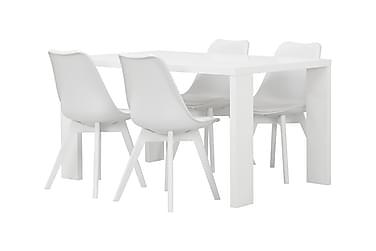 Ruokailuryhmä Fiorenza 140 cm 4 Boyd tuolilla