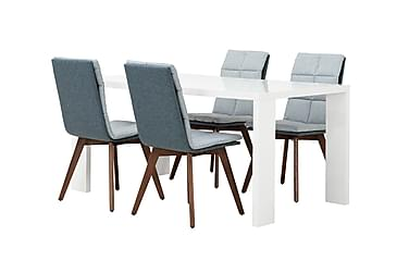 Ruokailuryhmä Fiorenza 160 cm 4 Marau tuolilla