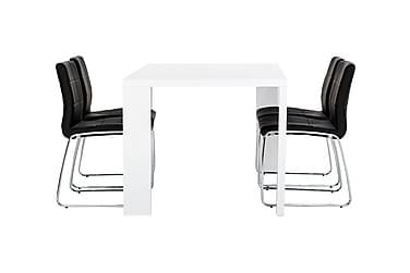 Ruokailuryhmä Fiorenza 160 cm 4 Mucura tuolilla