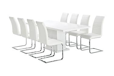 Ruokailuryhmä Griffith 180 8 Emån tuolilla