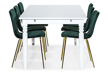 Ruokailuryhmä Hampton 190 cm 6 Miko tuolilla