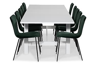 Ruokailuryhmä Isadora Jatkettava 240 cm 10 Miko tuolilla Sam